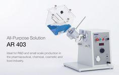 El Motor Universal AR403 de ERWEKA es un sistema de uso múltiple ideal para investigación y desarrollo, y para producción a pequeña escala, en la industria farmacéutica, o laboratorios de farmacia, tecnología farmacéutica y galénica. http://www.gomensoro.net/