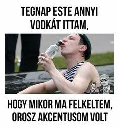 Ezek az oroszok Funny Moments, Funny Cute, Puns, True Stories, Sarcasm, Work Hard, Funny Jokes, Haha, Have Fun