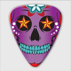 Grover Allman SUGAR SKULL PICK