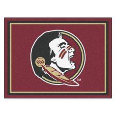 Florida State Seminoles NCAA 8ft x10ft Area Rug