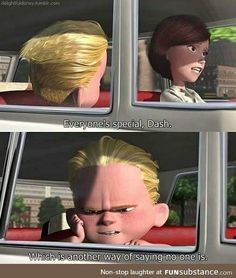 Thats The Truth ! - The Incredibles - Thats The Truth ! – The Incredibles Thats The Truth ! – The Incredibles Disney Pixar, Disney And Dreamworks, Disney Magic, Funny Disney Memes, Disney Quotes, Funny Memes, Hilarious, Jokes, Funny Facts