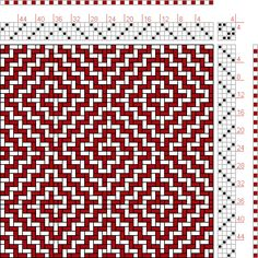 Hand Weaving Draft: Figure 1715, A Handbook of Weaves by G. H. Oelsner, 4S, 4T - Handweaving.net Hand Weaving and Draft Archive