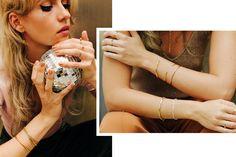 #jewelry #jewelrydesign #gold #glam #retro #ring #armband #schmuck #bracelet #disco