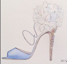 This would be a really cute card cover for a shoe lover.