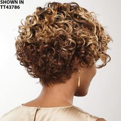 Short Permed Hair, Short Curly Hairstyles For Women, Grey Curly Hair, Short Sassy Hair, Short Layered Haircuts, Short Thin Hair, Curly Hair Cuts, Curly Bob Hairstyles, Curly Hair Styles