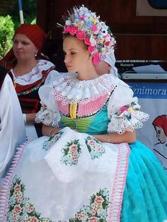 Ethnic Clothes, Ethnic Outfits, Folk Costume, Costumes, Photography Basics, Prague Czech, Melting Pot, Beautiful Patterns, Czech Republic