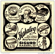 Original-Werbung/ Anzeige 1942 - SPIELWAREN / RASIERKLINGEN u.a. / SIGURD KASSEL  - ca. 45 x 45 mm