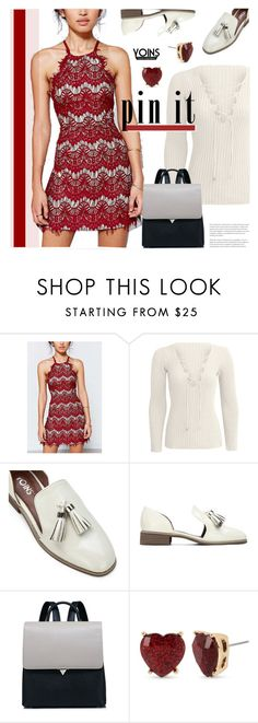 """Yoins 1: Pin It"" by bugatti-veyron ❤ liked on Polyvore featuring Betsey Johnson, yoins, yoinscollection and loveyoins"