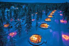 Hotel Kakslauttanen, Finlândia blogblux.com.br