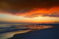 florida-sea - sunset-sky-clouds