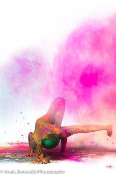 Release your inner colours - Yoga Art