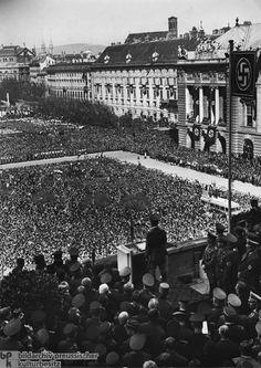 Kundgebung auf dem Heldenplatz in Wien – Hitlers Ansprache am Tag nach dem Anschluss Österreichs (15. März 1938)
