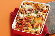 30-minute sausage pasta bake