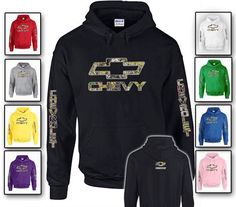 nice black camo chevy sweatshirt that i want really bad!!! anyone know where i can get it?