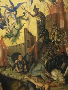 Detail of Stefan Lochner's Judgement Day (c. 1435)