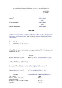 Affidavit Samples 10 Graph Paper Templates  Word Excel & Pdf Templates  Www .