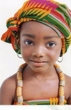 Girl in Ghana.