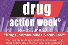 Drug Action Week is next week (16 - 22 June) - did you know there are a heap of drug info books and pamphlets available for young adults at your local Blue Mountains Library branch?