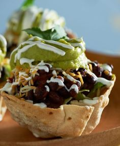 Hey taco lovers! Try David's recipe for Vegetarian Taco Cups for #TacoTuesday