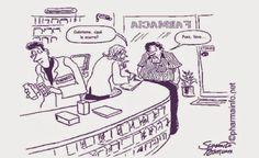 La iRebotica de Pilar: Un interrogatorio en la farmacia
