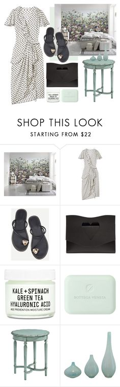 """""""Mint"""" by cherieaustin on Polyvore featuring Altuzarra, Proenza Schouler, Youth To The People and Magnolia Home"""