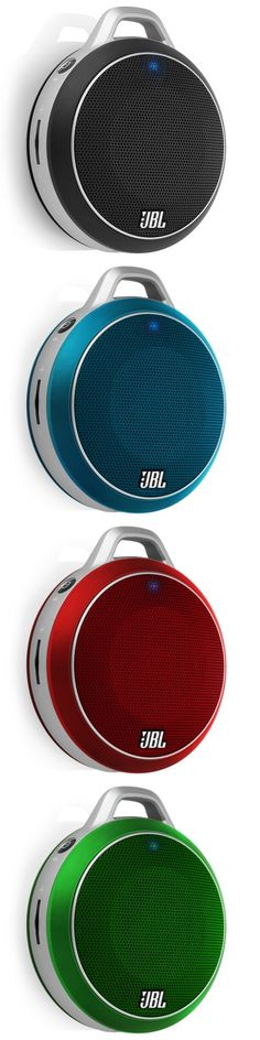 JBL Micro Wireless Portable Speakers - An ultra-portable Bluetooth Speaker with a bass port. Available in different colors. To get more updates, follow Best Buy Portable Speakers.