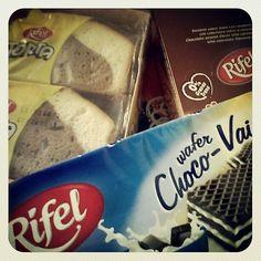 Tortas, Chocolate, Wafer... #SaborRifel ;)