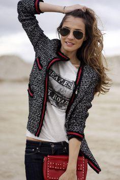 jeans  jacket – lady addict | Lady Addict en stylelovely.com