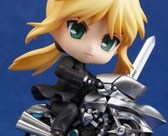 Saber Zero Version with Saber Motored Cuirassier (Fate/Zero) Nendoroid-Actionfigur 10cm GoodSmileCompany