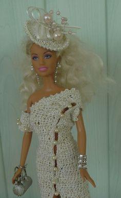 Barbie  modèle Kalvine...