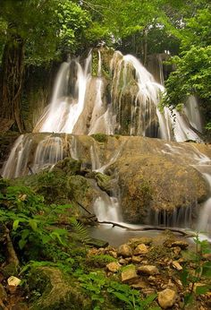 Batlag Falls in Tanay