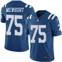 2016 Nike Indianapolis Colts 75 Jack Mewhort Royal Blue Mens Stitched NFL  Limited Rush Jersey 81298e697
