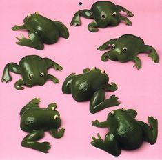 Capsicum frogs