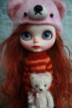 Poppy Custom Blythe - https://www.etsy.com/listing/192053264/poppy-ooak-custom-blythe