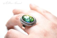 Ringe - ♦ Zauberglas ♦ Ring - ein Designerstück von LiAnn-Versand bei DaWanda