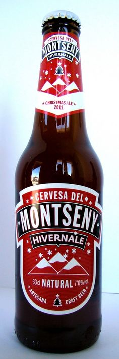 Cerveza de Navidad Montseny Beer Christmas