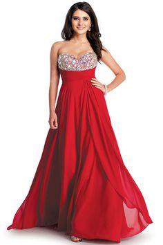 2014 Prom Dresses A Line Sweetheart Chiffon Floor Length Beading/Sequins Sleeveless