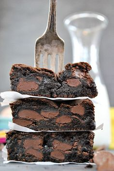 Fudgey Chocolate Chunk Brownies