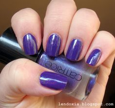 Lendoxia: catrice purple reign #nailpolish