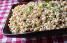Best Macaroni Salad Secrets - Page 2 of 2 - yummy tummy zone Side Dish Recipes, Side Dishes, Best Macaroni Salad, Macaroni Salads, Main Dish Salads, Cooking Recipes, Healthy Recipes, Pasta Salad Recipes, Summer Salads