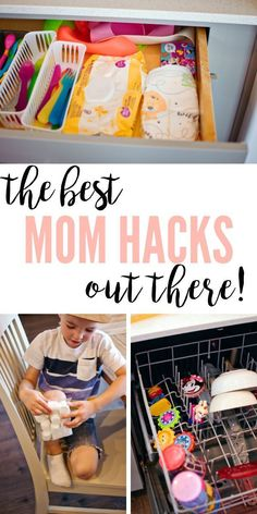 35 Amazing Mom Hacks You'll Actually Want To Use!, DIY and Crafts, If you're a stay at home or working mom, then this post about mom hacks for newborn baby or toddlers is for you! Whether you need mom hacks for saving. Life Hacks Español, Mama Hacks, House Hacks, Toddler Fun, Toddler Activities, Toddler Toys, Kids And Parenting, Parenting Hacks, Parenting Classes