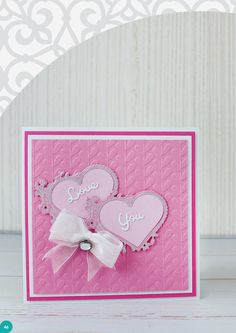 Make stunning cards with your TODO machine with the use of the TODO magazine Issue Click Visit Site above to browse now. Valentine Love Cards, Valentines, Embossing Machine, Cardmaking And Papercraft, Projects To Try, Paper Crafts, Magazine, Die Cutting, Scrapbooking Ideas