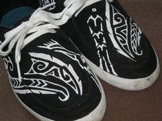 Polynesian Inspired Custom Designed Vans Shoes by LiONSiNK on Etsy - StyleSays