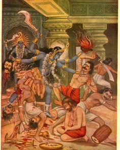 #kali #kalipuja #durga #durgapuja #bhadrakali #lordshiva #parvati #bhagavati #darika #darikavadham #shiva #lordbrahma #lordshani #shanidev… Kali Puja, Kali Hindu, Hindu Art, Indian Goddess Kali, Indian Gods, Indian Art, Durga Ji, Saraswati Goddess, Shiva Art