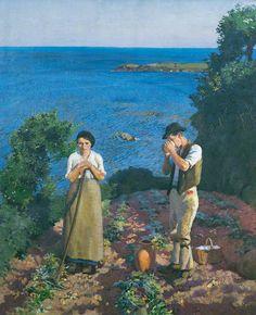 Harold C. Harvey - The Potato Harvest