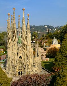 Sagrada Familia, Spain.  Architect Antoni Gaudi