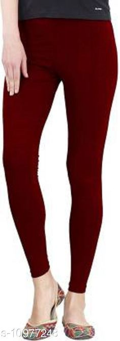 Checkout this latest Leggings Product Name: *Sakhi Shine Ankle Length Cotton Legging* Fabric: Cotton Lycra Pattern: Solid Multipack: 1 Sizes:  28, 30 (Waist Size: 30 in, Length Size: 38 in)  32, 34, 36, 38, 40, 42, 44 Country of Origin: India Easy Returns Available In Case Of Any Issue   Catalog Rating: ★4 (270)  Catalog Name: Fashionable Feminine Women Leggings CatalogID_2033476 C79-SC1035 Code: 382-10977248-936