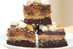 The Ultimate S'mores Bars!! - Hip Foodie Mom