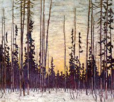 Quality print by Group Of Seven artist Lawren Harris - Early Light; Made In Canada. Group Of Seven Artists, Group Of Seven Paintings, Canadian Painters, Canadian Artists, Tom Thomson Paintings, Winter Painting, Found Art, Landscape Artwork, Winter Landscape