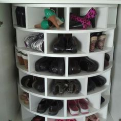 A lazy susan for my many pairs of shoes I will have :)